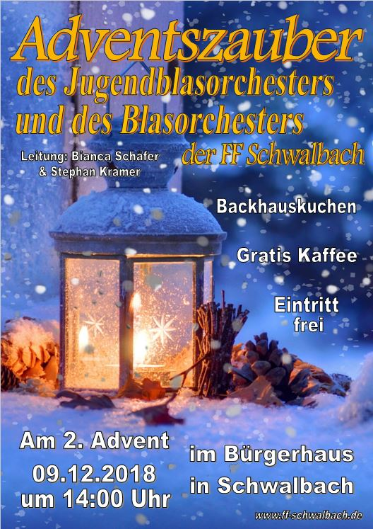 Flyer Adventszauber